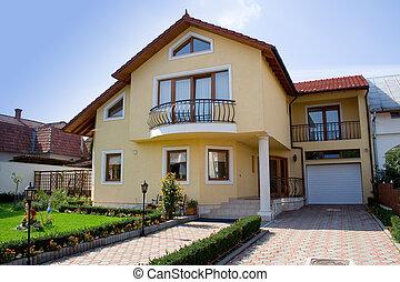 kleine, villa