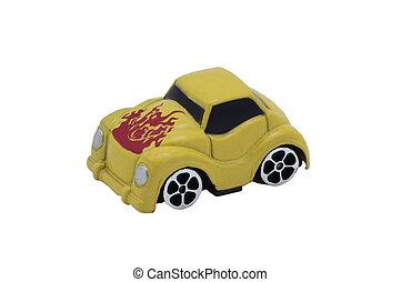 kleines auto, spielzeug