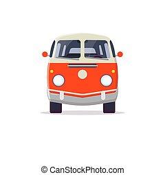 kleintransport, retro, hippie