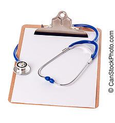 klembord, en, stethoscope