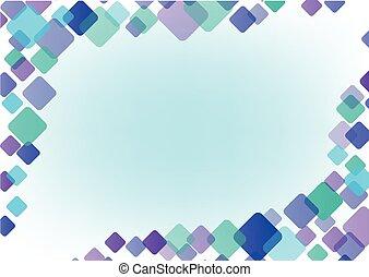 kleur, abstract, frame, achtergrond
