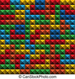 kleur, abstract, o?, spel, figuren, achtergrond