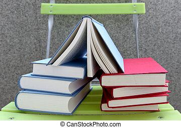 kleur, boekjes