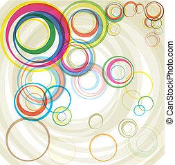 kleur, cirkels