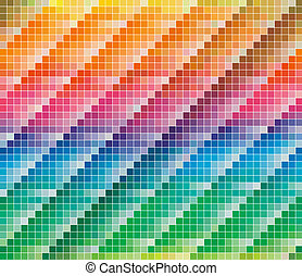 kleur, cmyk, palet, abstract, achtergrond