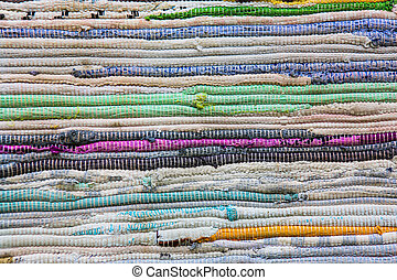 kleur, doormat, handwork