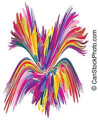 kleur, fontijn