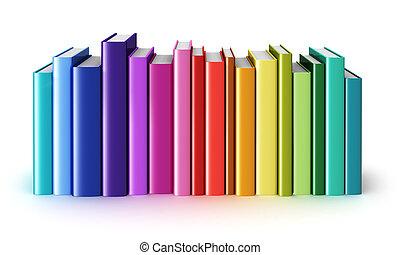kleur, hardcover, boekjes