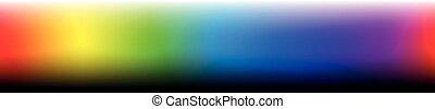 kleur, horizontaal, bar, formaat