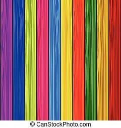 kleur, houten, achtergrond