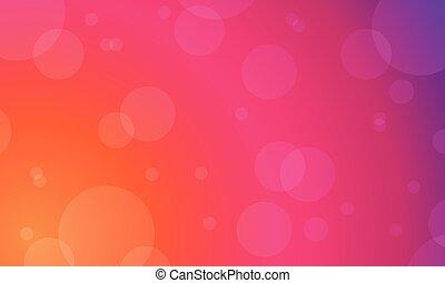 kleur, licht, abstract, achtergrond