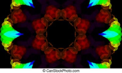 kleur, lotus bloem, model, trouwfeest