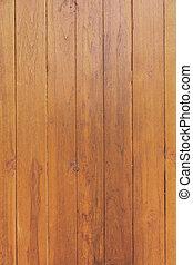 kleur, model, van, teakhout, hout, decoratief, oppervlakte