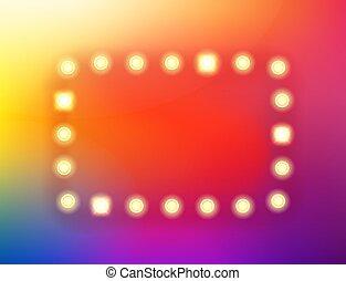 kleur, modieus, abstract, achtergrond, lichtinval