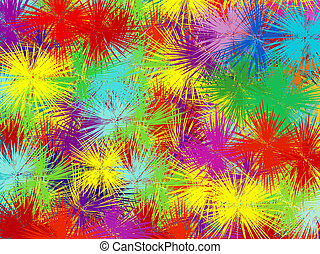kleur, ontploffing