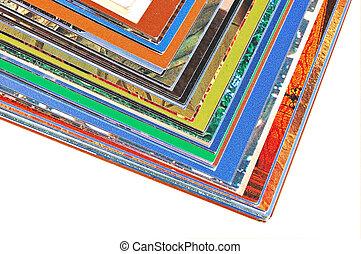kleur, pagina's