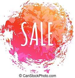 kleur, poster, verkoop