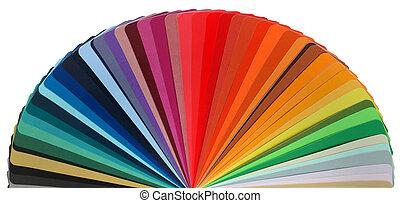 kleur, regenboog, gids