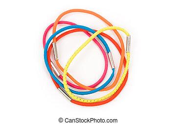 kleur, rubberband