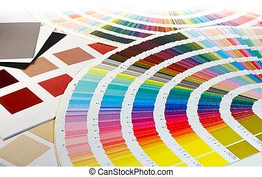 kleur swatch, keuzes