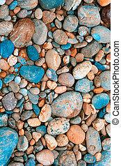 kleur, verzamelde, kiezelsteen, duitsland