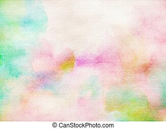 kleur, water, abstract, kleurrijke, achtergrond.