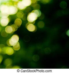 kleuren, groene achtergrond
