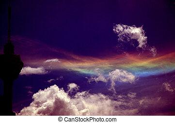 kleuren, hemel