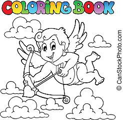 kleurend boek, valentijn, thema, 1