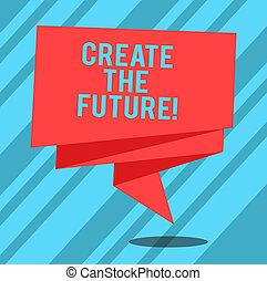 kleurenfoto, hard, meldingsbord, leeg, scheppen, jouw, lint, really, komen, maken, ineengevouwen , strook, celebration., future., tekst, conceptueel, bereiken, 3d, het tonen, waar, dromen, vast lichaam, werken, raamwerk