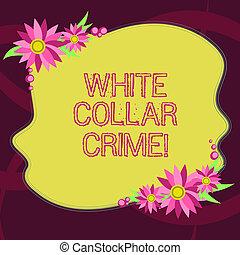 kleurenfoto, invitation., financially, leeg, schrijvende , grens, bloemen, misdaad, conceptueel, witte , gemotiveerde, zakelijk, het tonen, hand, kaarten, crime., nonviolent, refers, kraag, vorm, showcasing
