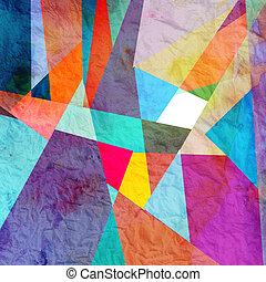 kleurrijke, abstract, achtergrond