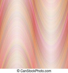 kleurrijke, abstract, golf, achtergrond, -, vector, illustratie, van, rood, golvend, lijnen
