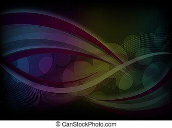 kleurrijke, abstract ontwerp