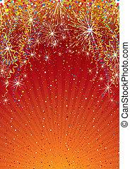 kleurrijke, achtergrond, mal, feestelijk
