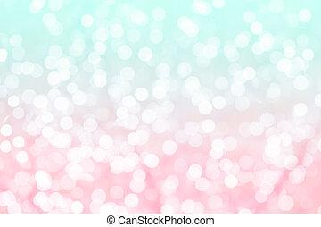 kleurrijke, achtergrond, met, natuurlijke , bokeh, textuur, en, defocused