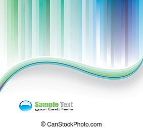 kleurrijke, achtergrond, zakelijk, delicaat