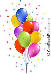 kleurrijke ballons