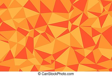 kleurrijke, geometrisch, laag, achtergrond., vector, triangular., ontwerp, gemaakt, poly, illustrator