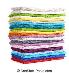 kleurrijke, handdoeken