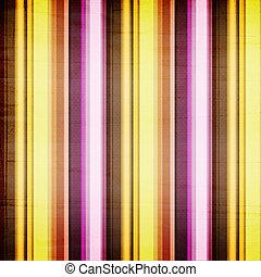 kleurrijke, helder, achtergrond, strepen, armoedig, textiel