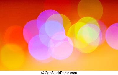 kleurrijke, kerstmis, achtergrond