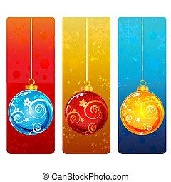 kleurrijke, kerstmis kaart