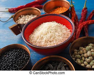 kleurrijke, kokende bestanddelen
