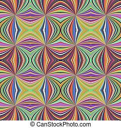 kleurrijke, model, abstract, seamless, hypnotic, spiraal, streep, achtergrond, straal