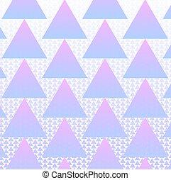 kleurrijke, model, halftone, vector, achtergrond, driehoeken