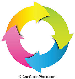 kleurrijke, pictogram