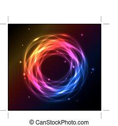kleurrijke, plasma, achtergrond