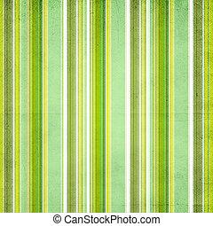 kleurrijke, strepen, gele achtergrond, groene, witte