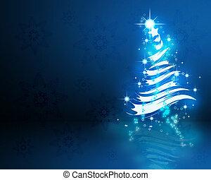 kleurrijke, thema, achtergrond, jaar, nieuw, kerstmis